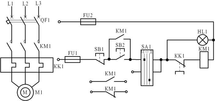 Схема соединения я5111